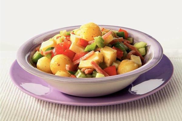 potato salad with mustard dressing