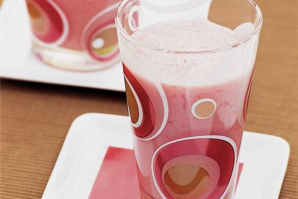 soy fruit shake