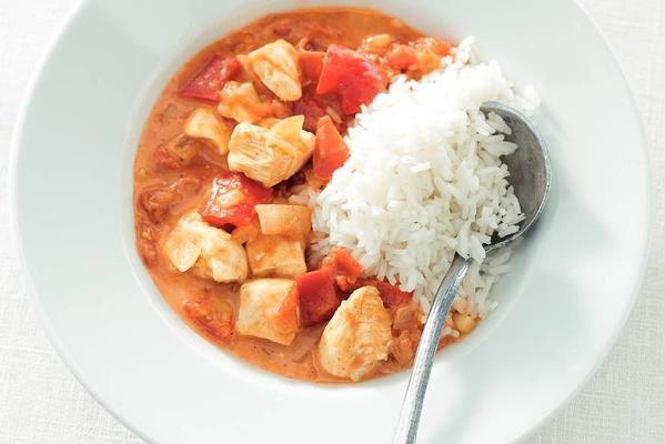 Hungarian chicken goulash