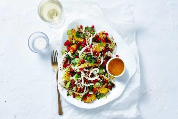 quinoa with fennel and orange