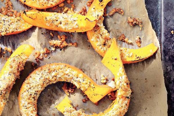 pumpkin with herb crust