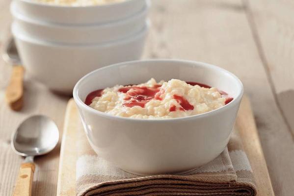 basic recipe rice pudding