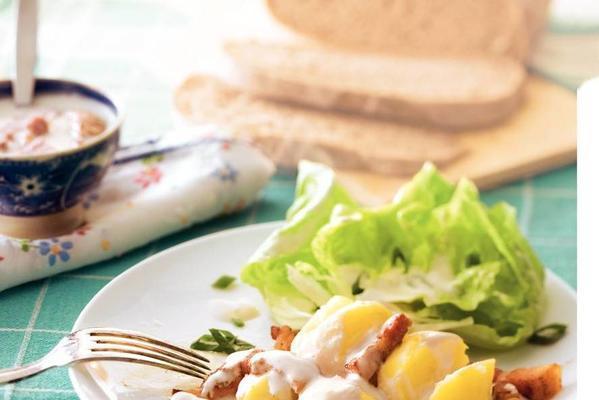 gelding buttermilk dish with bacon