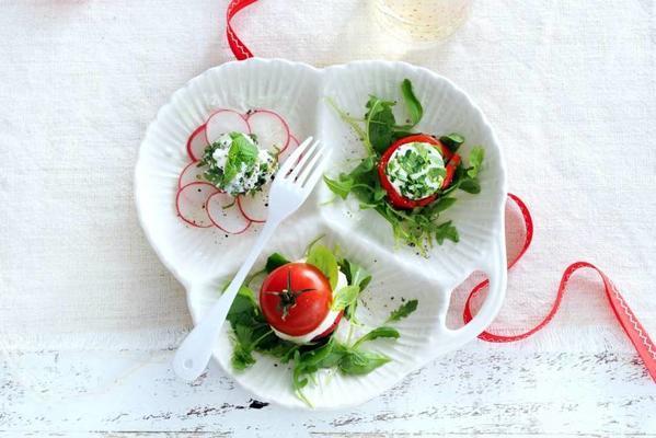 3 variations on salad caprese