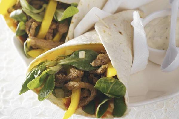 wrap with shawarma