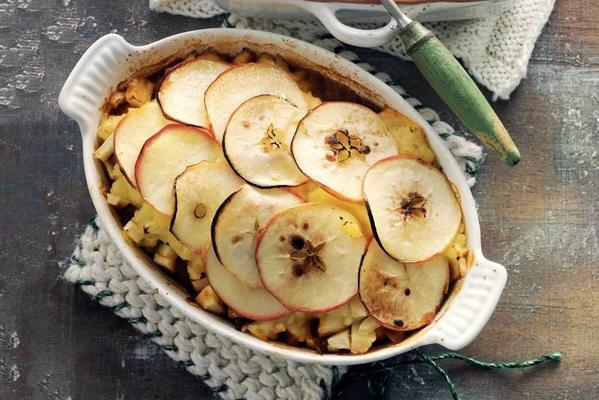 apple hunting dish