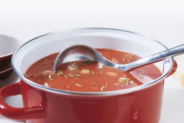 left soup