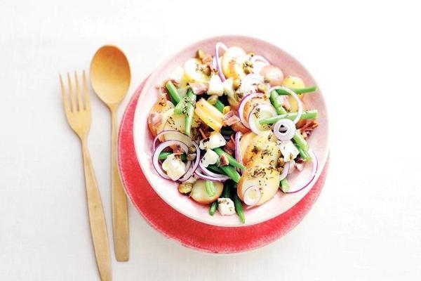 potato salad on its italian