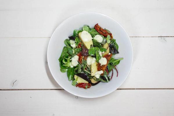 work that es' energy-rich salad