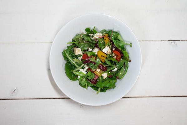 freckles and foods goat cheese salad