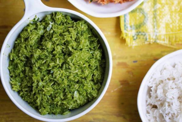 thomasina ants' green rice