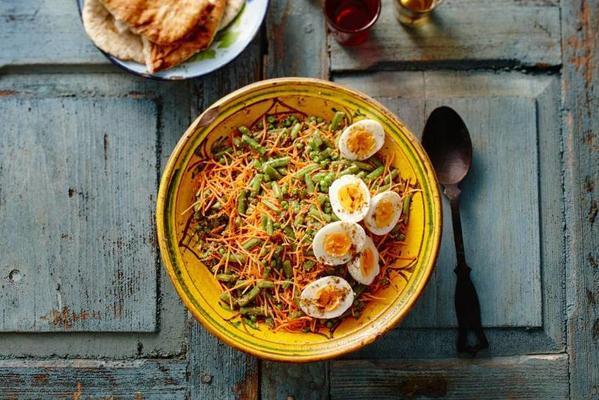 poriyal (Indian fried vegetables)