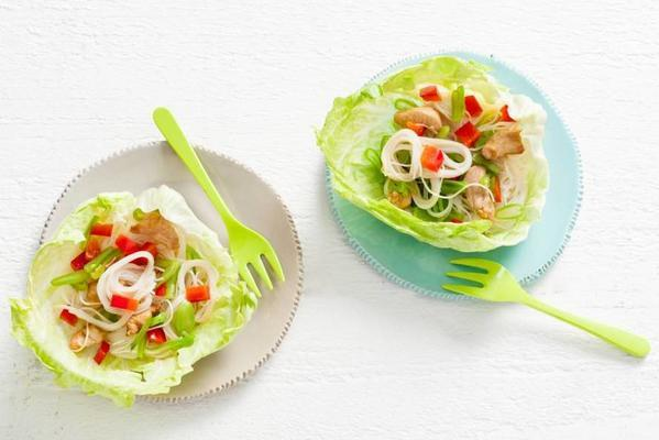 popper: lettuce with noodles and chicken 2-4 yrs