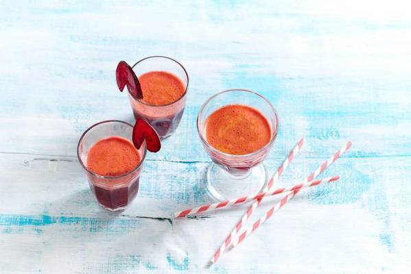 beet-root-grapefruit juice