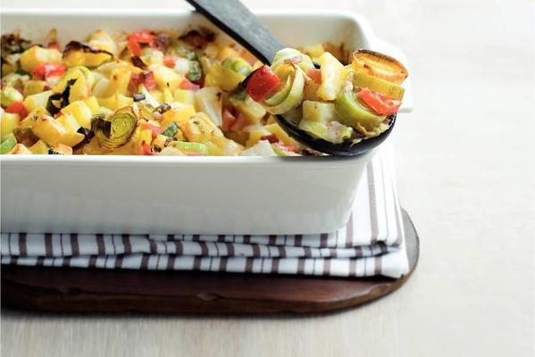 potato pineapple dish