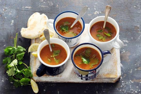 lentil soup with celery