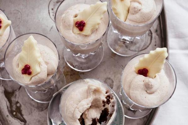 chestnut-chocolate dessert