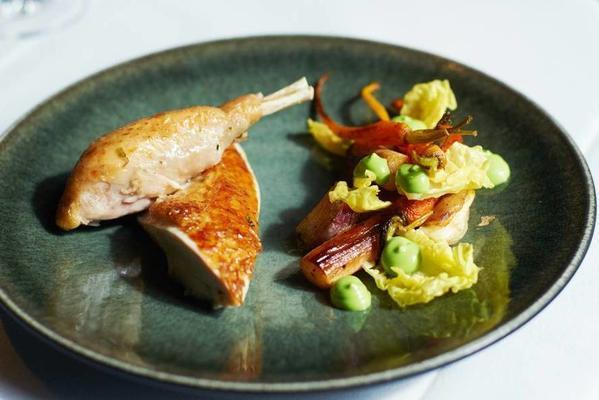joris bijdendijks roast chicken with salsify
