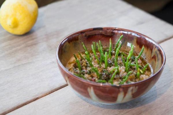 sergio hermans samphire risotto