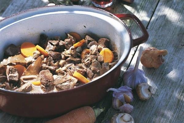 stew with carrot