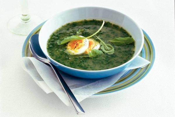 turnip soup with egg