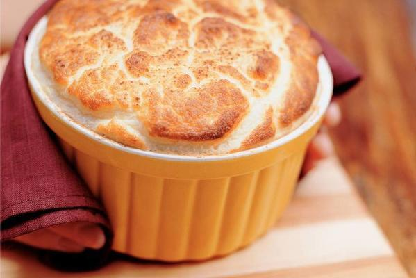 cinnamon apple souffle