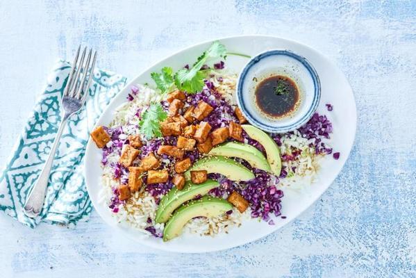 asian meal salad