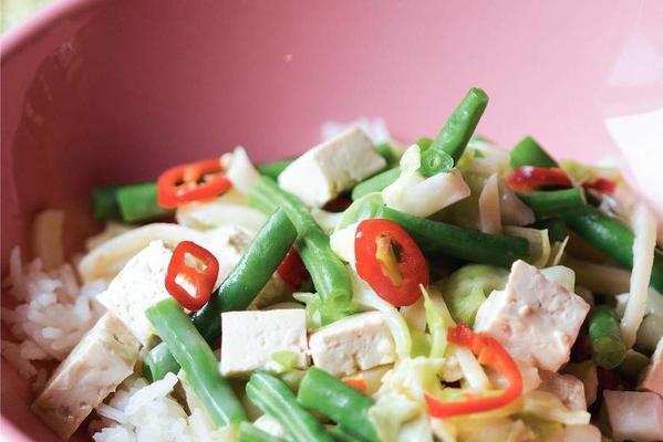indian vegetable dish (sajoer lodeh)