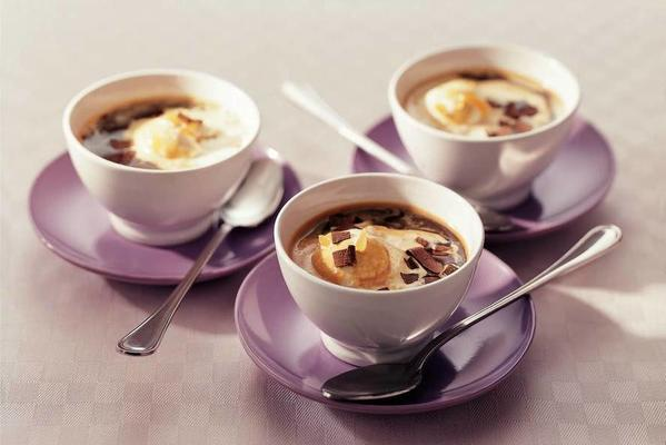 ice cream with espresso and ginger