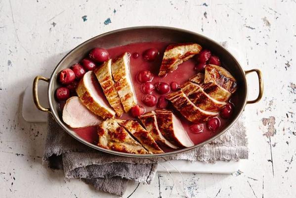 pork tenderloin with cherry sauce