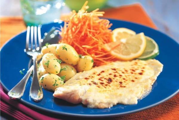 gratinated tilapia fillet