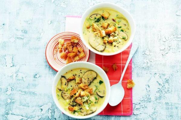 meal soup of sweet potatoes
