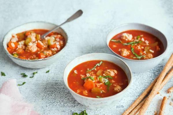 Italian letter soup