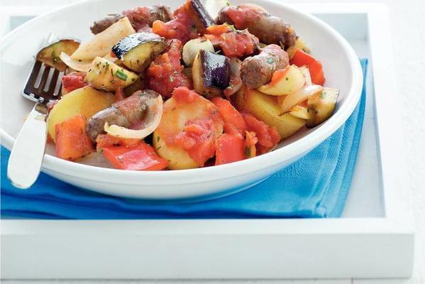 fast provençal beef stew