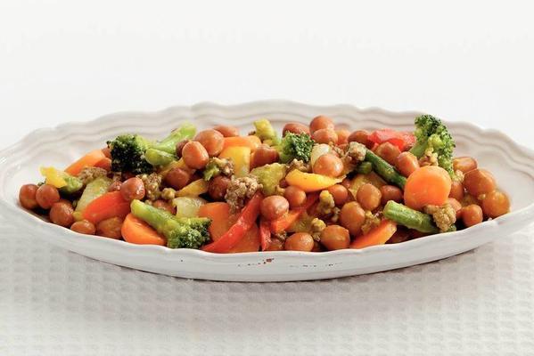 vegetarian capuchin dish