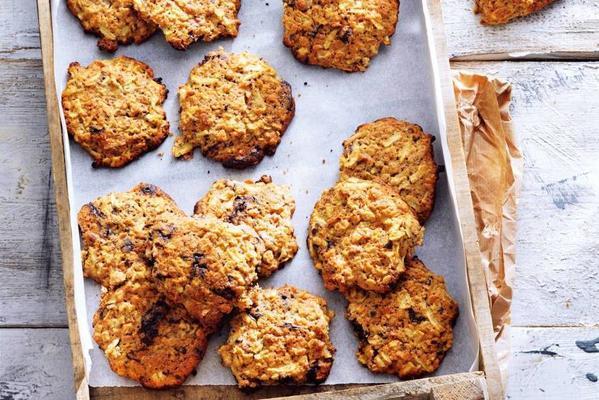 apple-chocolate chip cookies