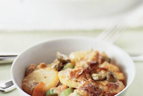 potato tuna dish
