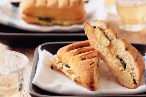 panini with artichoke hearts