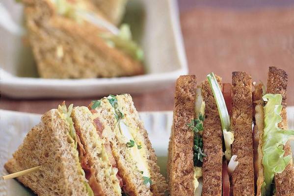 guacamole club sandwich