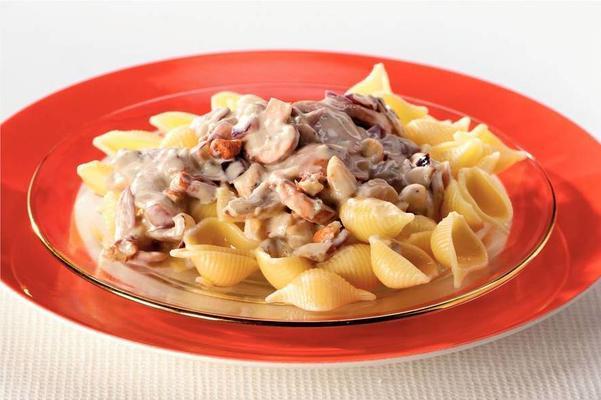 pasta with nut cream sauce