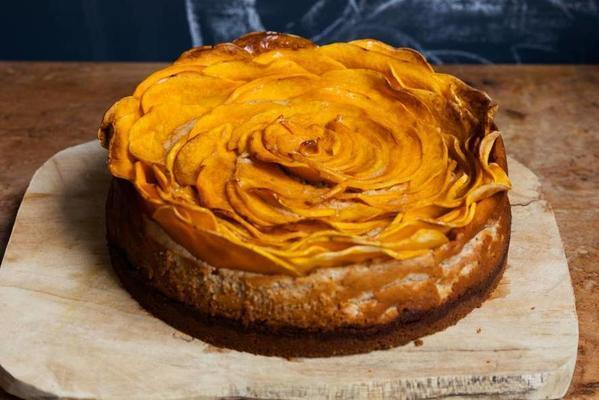 sweet pumpkin rosemary pie
