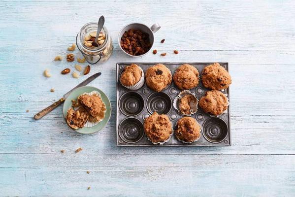 gluten-free multigrain muesli muffins