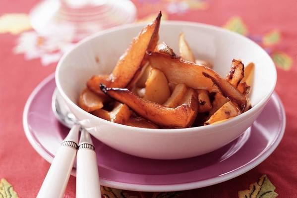 fried pears