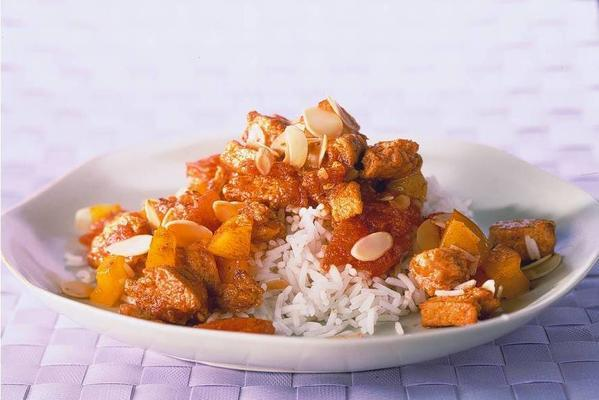 vegetarian indian curry