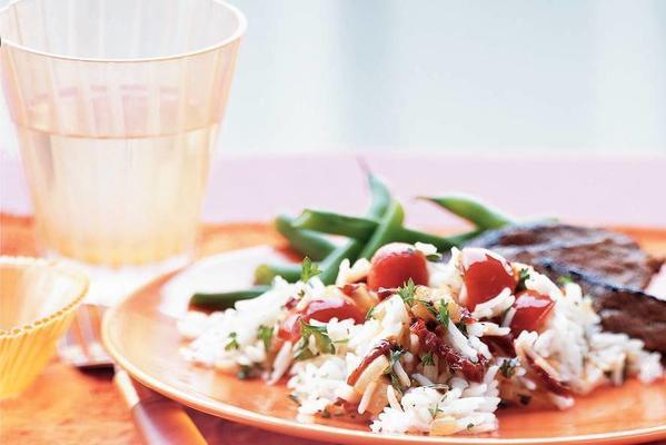 basmati rice with tomato