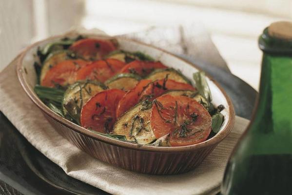 casserole of vegetables