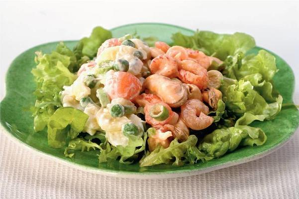 fish-meal salad
