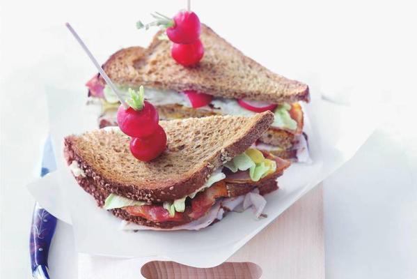 fast club sandwich
