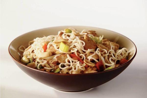 quorn soy sauce with noodles