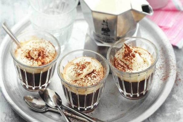 espresso with whipped cream